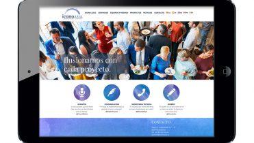 Web design, social networks, mailing